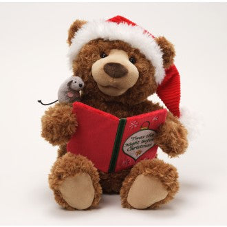 GUND Christmas Storytime Bear - Twas the Night Before Christmas