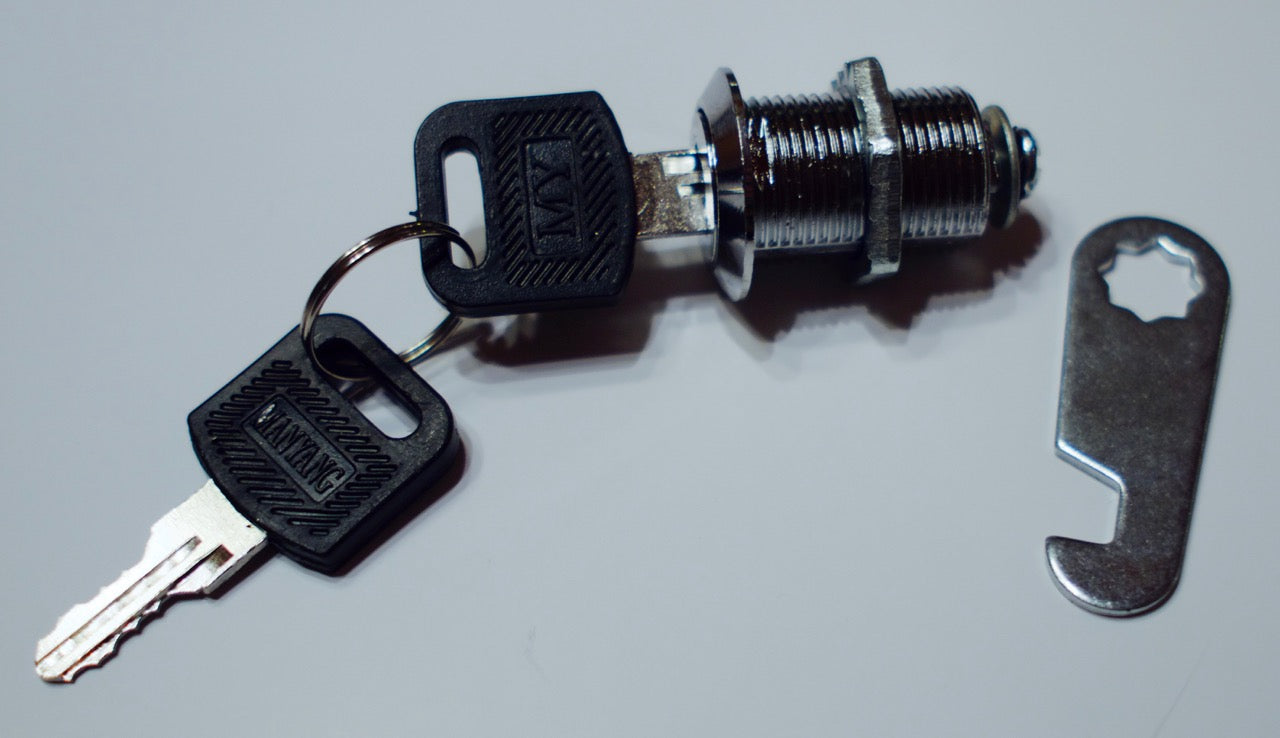 Keylock Mechanism for Coin Door