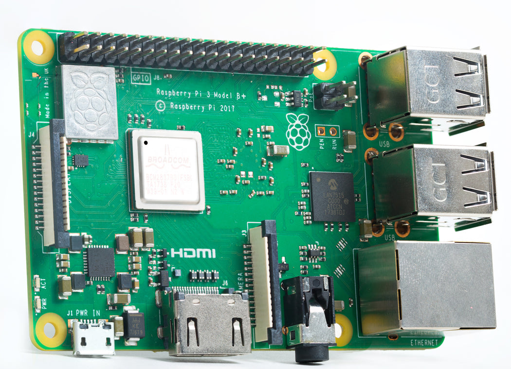 New Raspberry Pi 3 Model B+