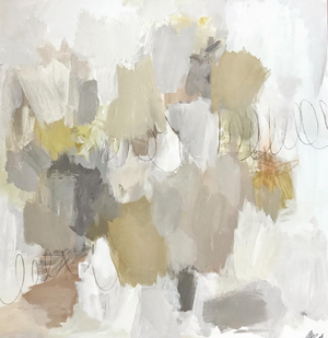 Atmospheric Scape: grounded ivory | ochre