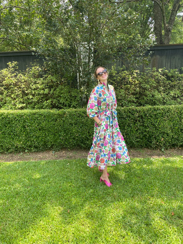 Paloma Flounce Dress | Poppy Garden Party