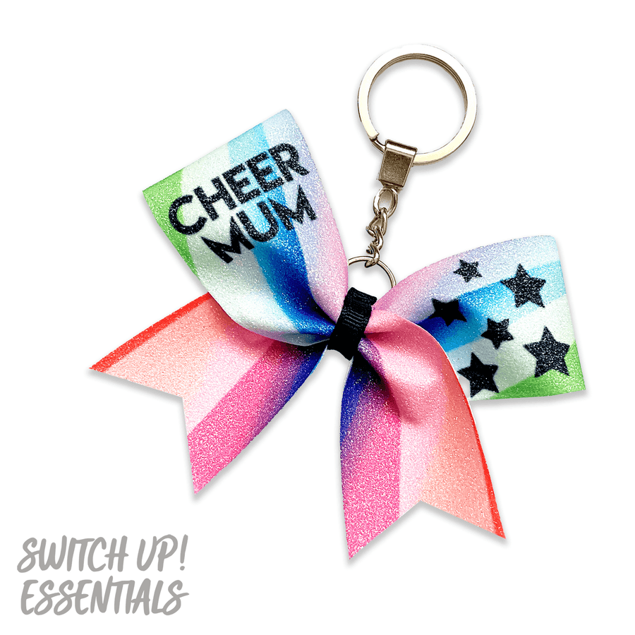 Cheer Mum x JC Custom Glitter Keyring