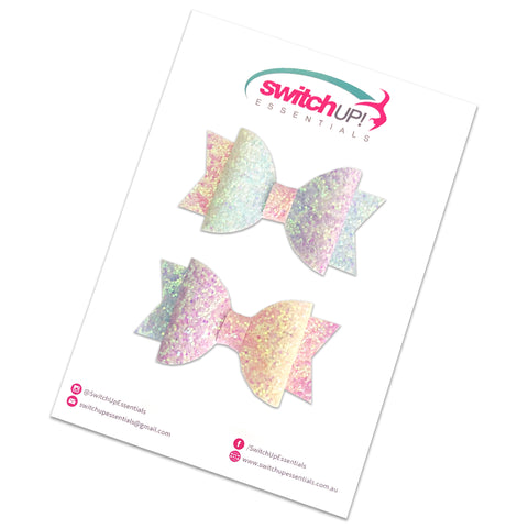 Pastel Sprinkles Mini Bow Set - Switch Up! Essentials - Cheer Bows