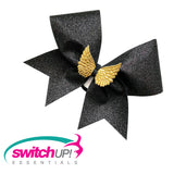 Angel Wings Cheer Bow - Switch Up! Essentials - Cheer Bows