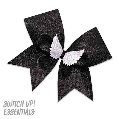 Angel Wings Cheer Bow