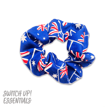 Australian Flag Inspired Scrunchie