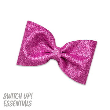 Brilliant Pink Tailless Bow