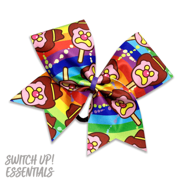 Bubble Gum Cheer Bow