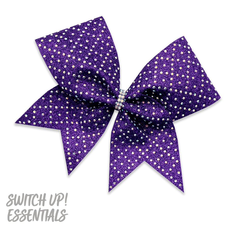Diamond Girl Cheer Bow