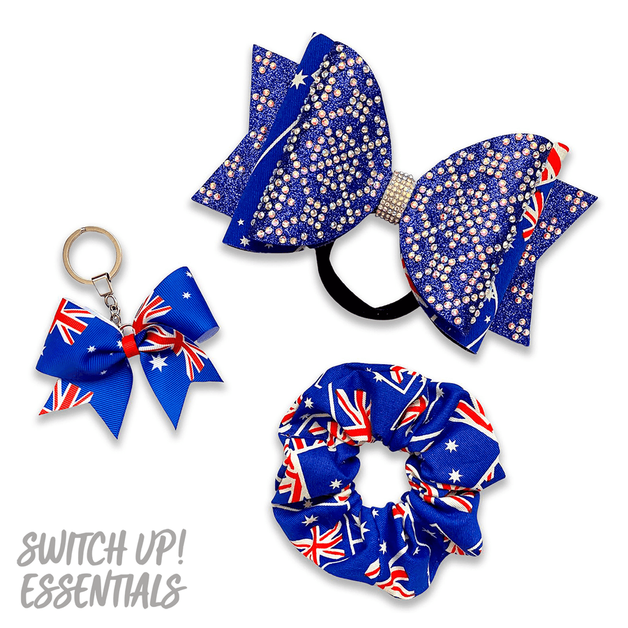 Australia Flag Dolly Bow
