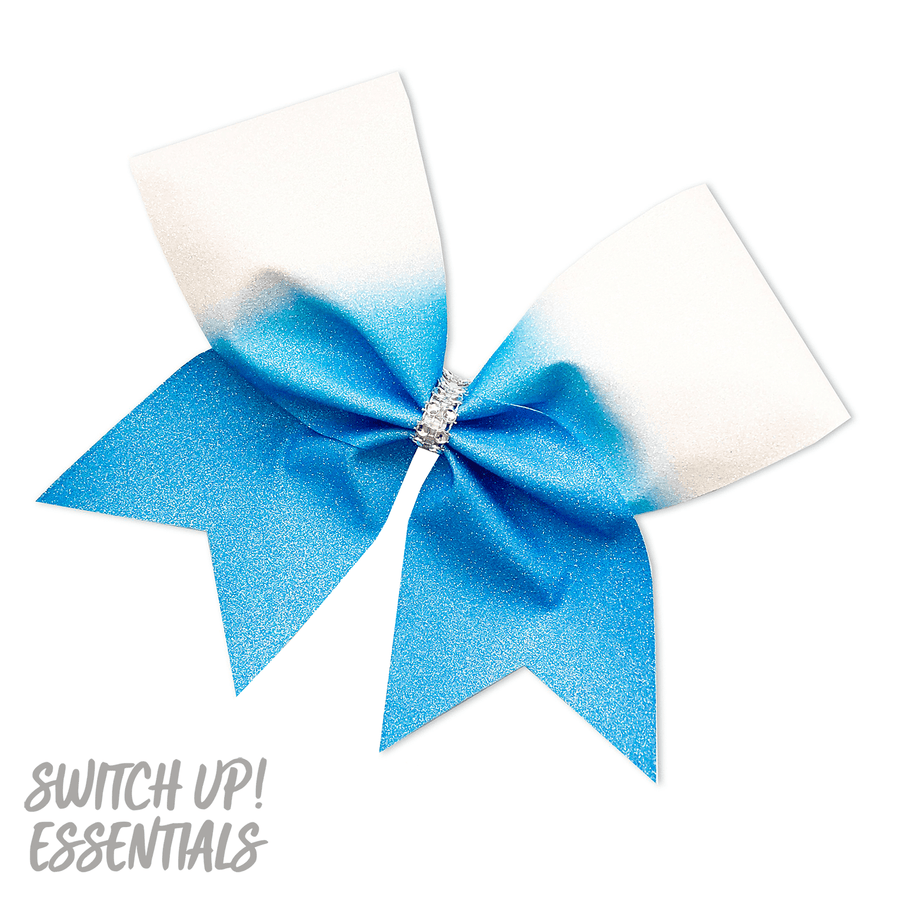 Ombre Fade Down Cheer Bow