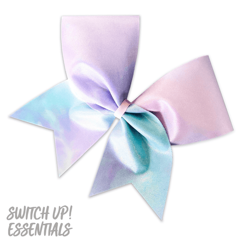 Fairy Floss Cheer Bow