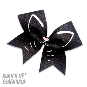 Happy Cat Cheer Bow