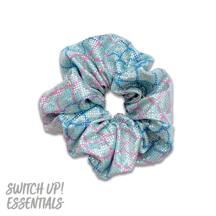 Mermaid Scale Scrunchie