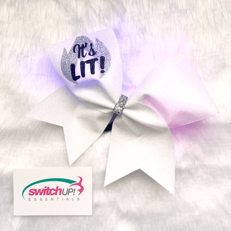It's Lit! Light Up Cheer Bow
