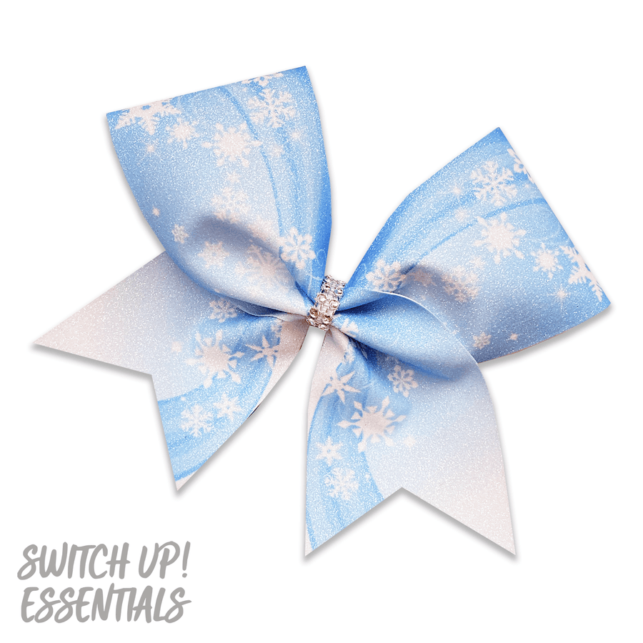 Let It Snow Winterfest Cheer Bow