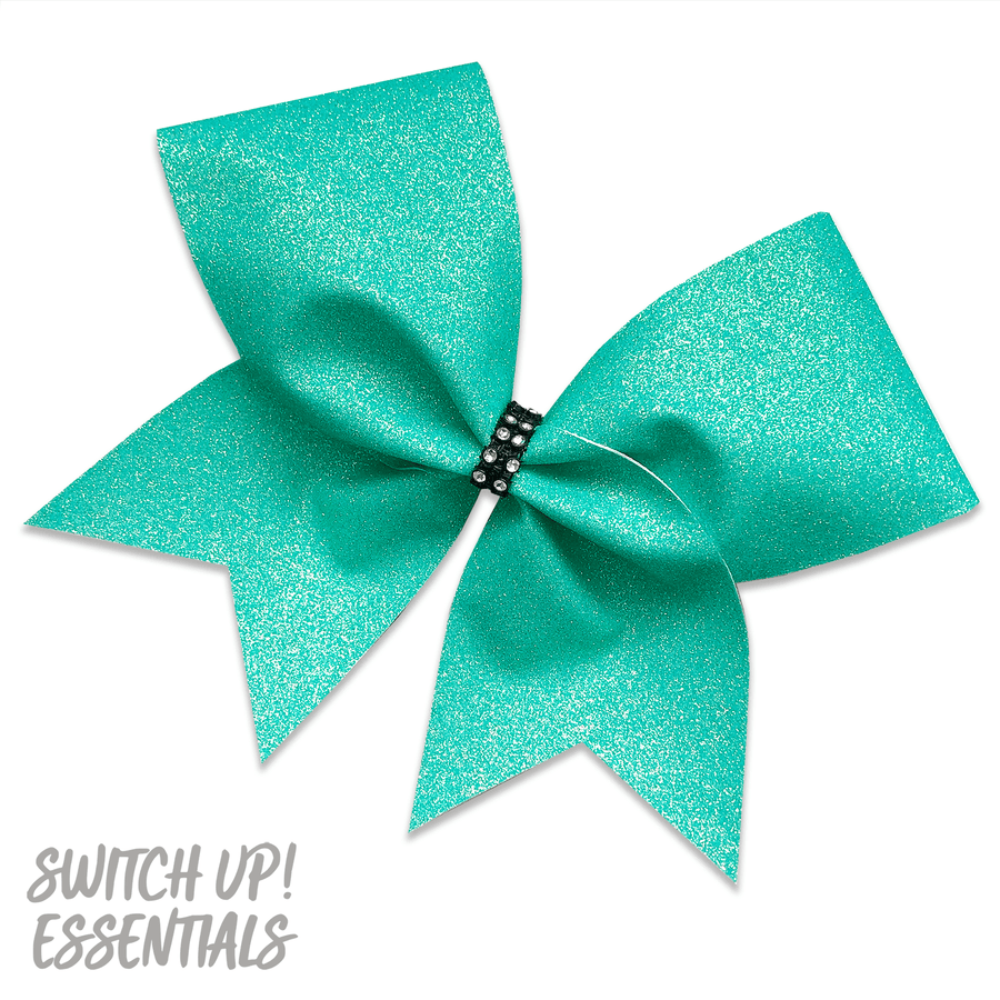 Mermaid Glitter Cheer Bow