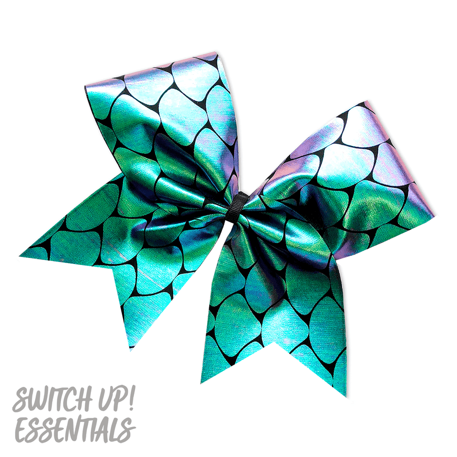 Mermaid Shell Cheer Bow