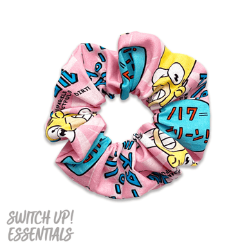 Mr Sparkle Homer Simpson Scrunchie
