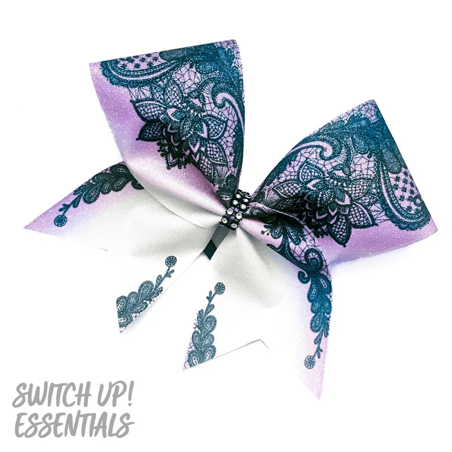 Pretty Lace Cheer Bow