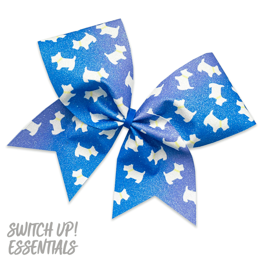 Scottie Dogs Cheer Bow