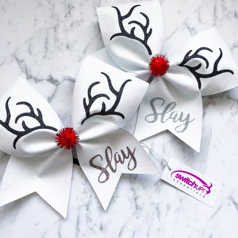 Reindeer Cheer Bow