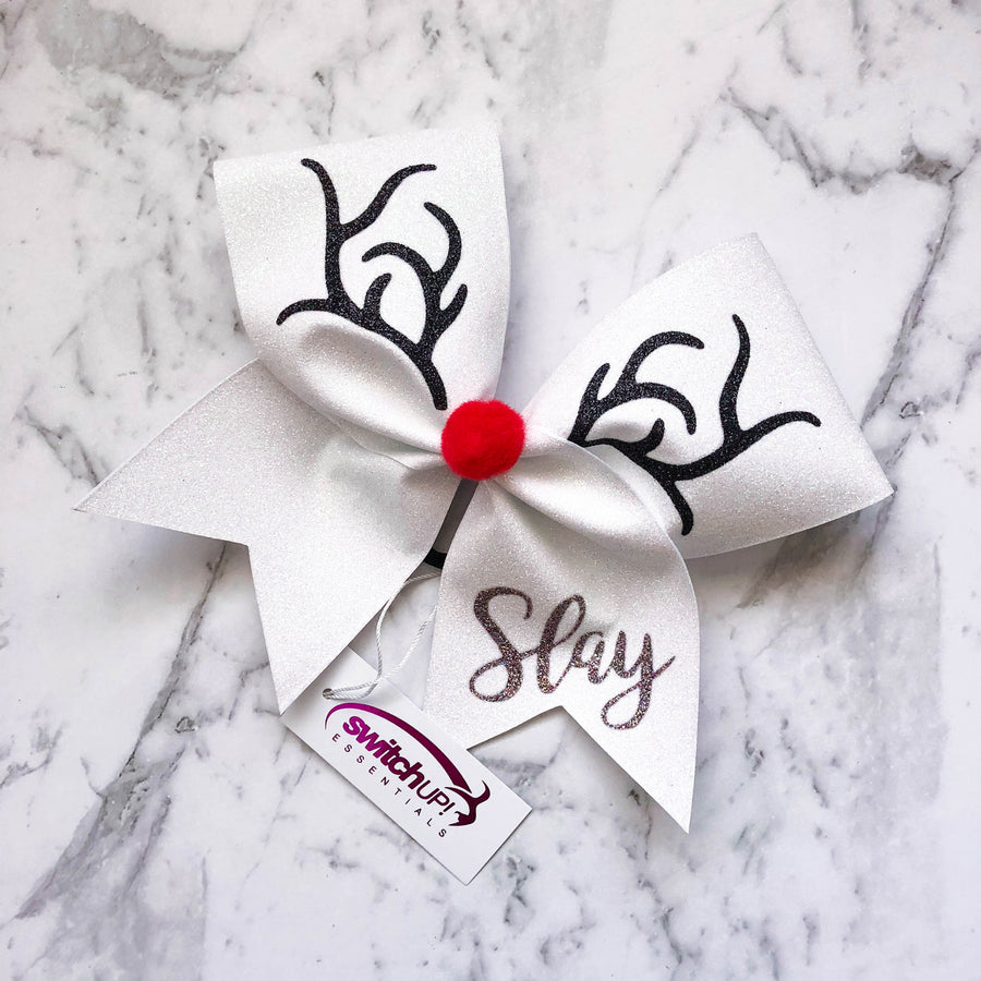 Reindeer Cheer Bow - Switch Up! Essentials - Cheer Bows