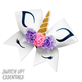 Unicorn Horn Cheer Bow