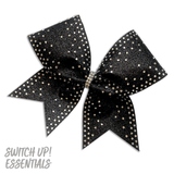 Waterfall Rhinestone Cheer Bow