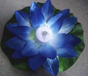 Multi Colored LED Luminous Lotus Flower Floating Pool Lanterns - Garden Gift Hub