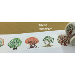 Give Your Gifts and Stationery an Extra Special Touch with Natural Japanese Washi Adhesive Tape or Labels - Garden Gift Hub