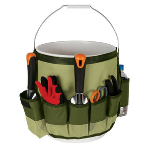 Garden Tool Bag Wraparound Bucket for Gardening Tool Kit