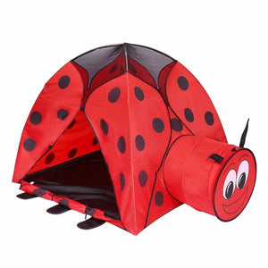 Kids Love This Ladybug Tunnel Tent - Garden Gift Hub