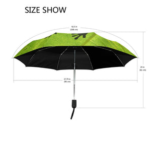 Inspiring Froggy Brollies. Strong, lightweight Folding Umbrella With Frog Design for Rain and Sun Protection - Garden Gift Hub