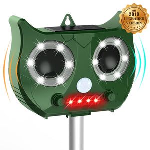 New Solar Ultrasonic Deer & Animal Repeller - Garden Gift Hub