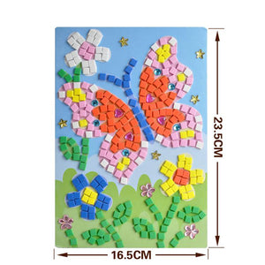 24 Creative Animal and life 3D Mosaic Stickers - Garden Gift Hub