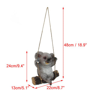 G'Day Mate. Swinging Koala For Your Garden - Garden Gift Hub
