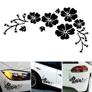 Car Floral Decals, Nature Stickers For Decoration & Covering Scratches - Garden Gift Hub