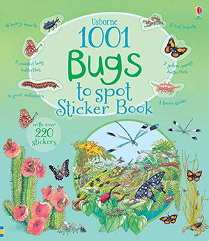 1001 Bugs to Spot Sticker Book - Garden Gift Hub