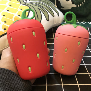 Kids love these insulated strawberry water bottles - Garden Gift Hub