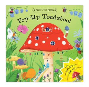 Pop-Up Toadstool (Busy Little Bugs) - Garden Gift Hub