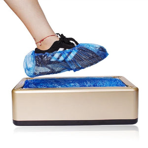 Hygenic And Useful Automatic Shoe Covers Machine - Garden Gift Hub