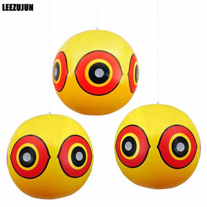 Scary Eye Bird Repellent Balloons. Stops Bird Pest Problems Fast - Garden Gift Hub