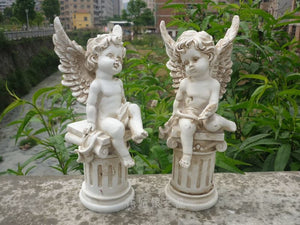 More Heart Stealers. Cupid Fairy Angel Sculptures For Dramatic Landscape Decor Appeal - Garden Gift Hub