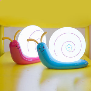 Cute Snail Design Rechargeable LED Night Lamp - Garden Gift Hub
