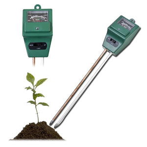Best Digital 3 in 1 Soil Test Kit for pH, Moisture and Light - Garden Gift Hub