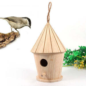 Invite Birds into Your Garden With a Wooden Bird Nest House - Garden Gift Hub