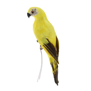 Captivating Handmade Parrot Ornament for Garden Decoration - Garden Gift Hub