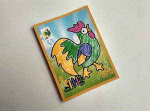 Kids Farmyard Favourite Drawing Toys, Two-in-one Magic Color Scratch Coloring Cards - Garden Gift Hub