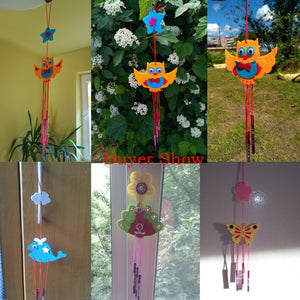 Hours of Creativity With Children's Novelty DIY Hanging Garden Wind Chimes Craft Kits - Garden Gift Hub